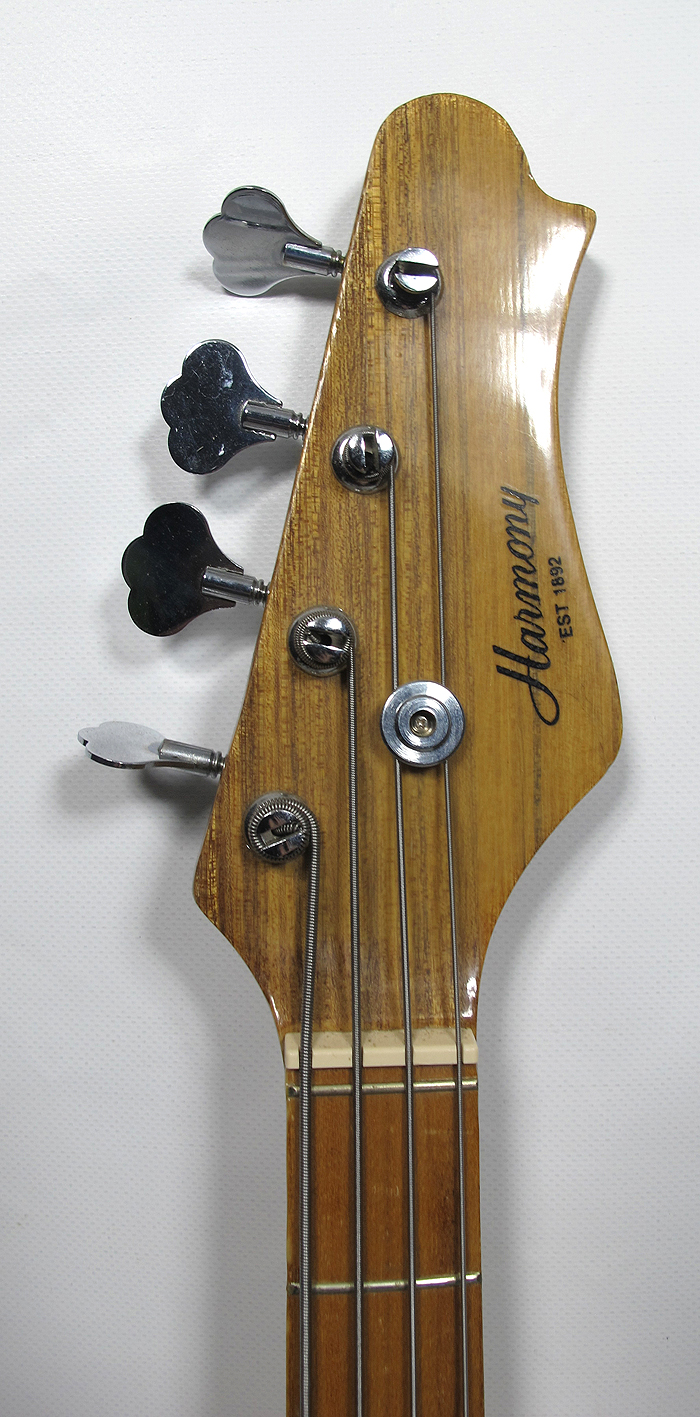 vintage 1970 39 s harmony h704 electric bass guitar 4 string woodstock era case yqz ebay. Black Bedroom Furniture Sets. Home Design Ideas